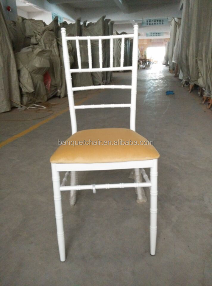 stainless steel dining table marriage chair white pu white wedding