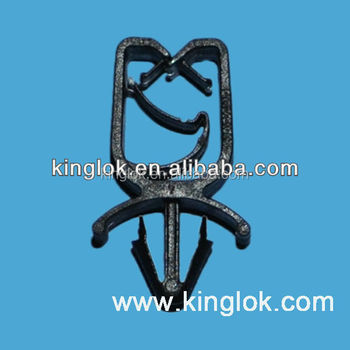 Cable tie mount Wire Mount High Quality Harness Clip With Push Mount