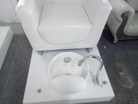 Canboth-royal White Pedicure Chair With Magneitc Jet And ...