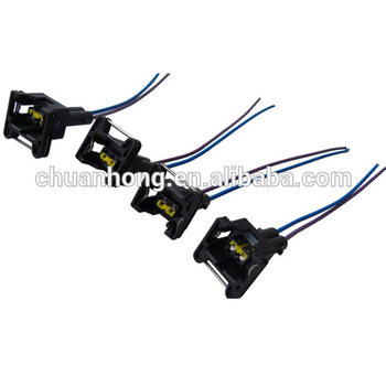 2 Way Fuel Injector Ignition Coil Connector Wiring Harness Plug