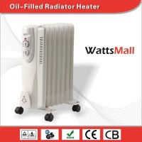 3000w Oil Radiator Heaters / Wall Mounted Oil Filled ...