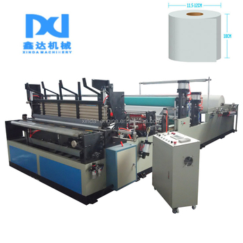 Full Automatic Toilet Tissue Paper Roller Making Converting Machines - paper roler