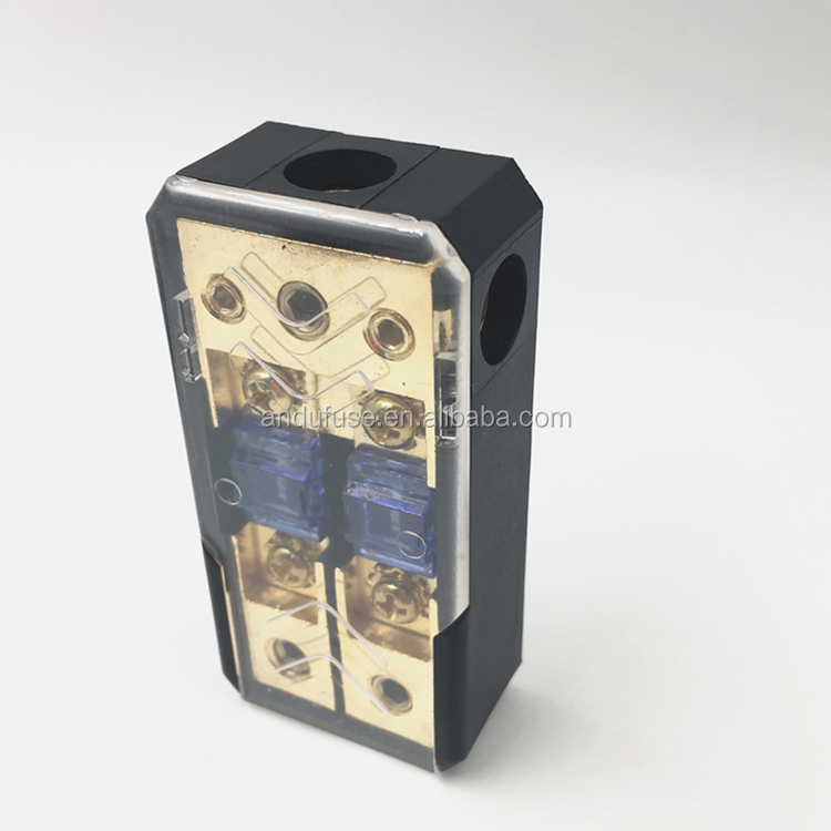 Use In Car Audio Power Bolt-down Fuse Box Anl Type Fuse Holder Block