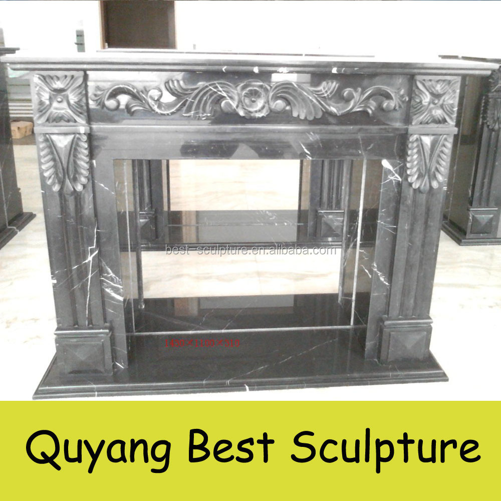 egyptian beige marble fireplace natural marble hand carved well