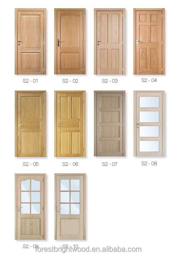 6 Panel White Oak Pre