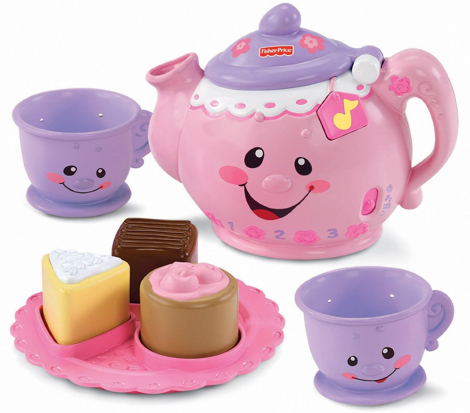 Tea Set Toy Buy New Fisher Price Laugh Learn Say Please Tea Set Musical Toy