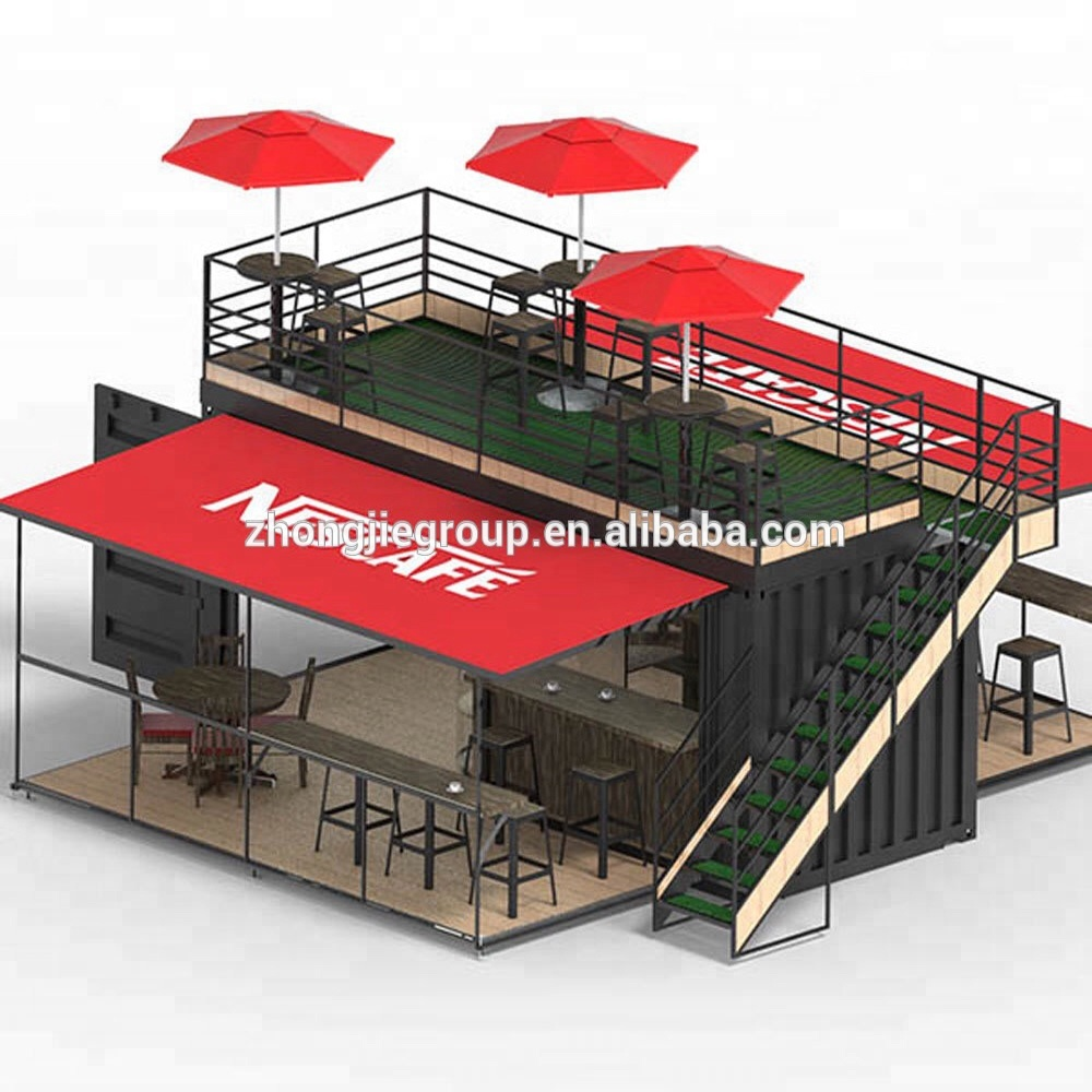 Desain Cafe Container Pop Up Ponsel Coffee Shop Desain Kontainer 10ft 20ft 40ft Kontainer Prefabrikasi Pengiriman Coffee Shop Buy Pop Up Ponsel Coffee Shop Desain