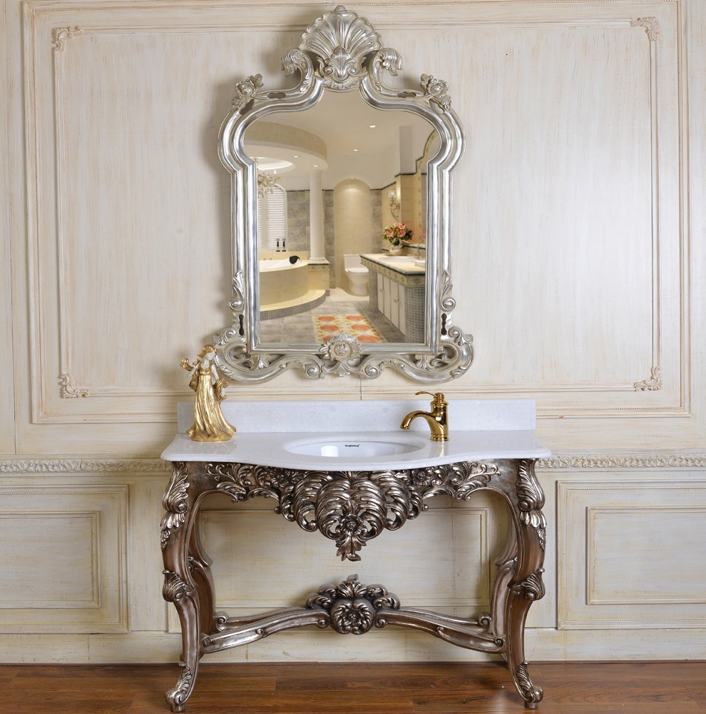 Decorative Mirror Table C249 Baroque Console Wall Table With 2401 Antique Room