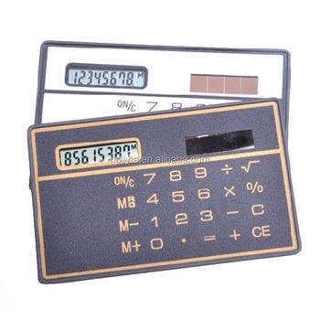 Funny Credit Card Size Mini Pocket Calculator - Buy Credit Card