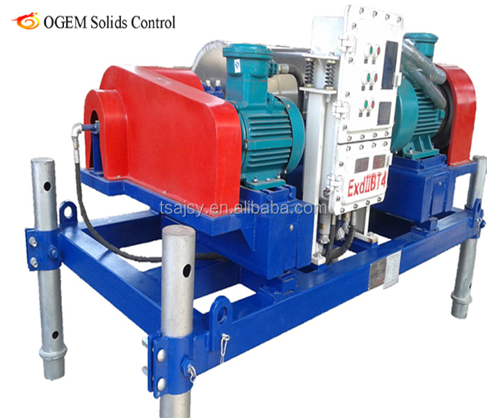 Drilling Mud Solids Control Horizontal Centrifuge - Buy High Speed