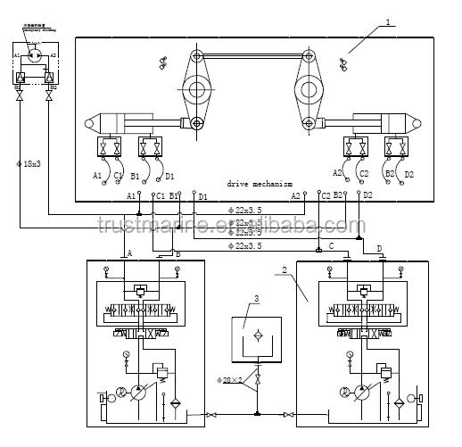 hydraulic steering schematic