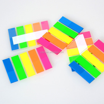 Fluorescent Color Film Index Sticky Notes - Buy Film Index Sticky - stickey notes
