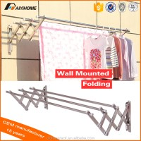 2016 Wall Mounted Folding Clothes Drying Rack Of Bathroom ...