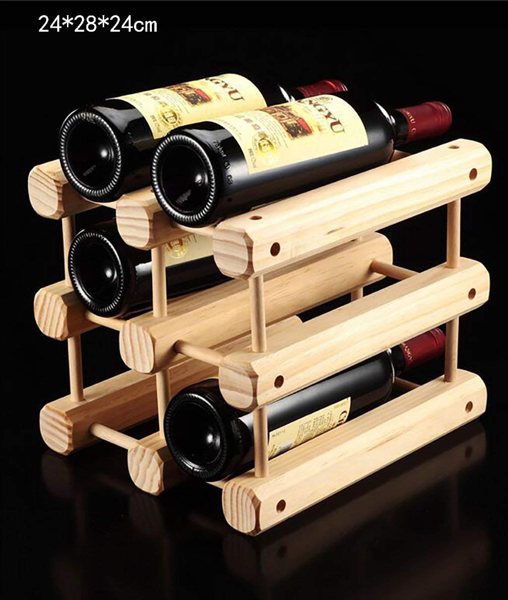 Wooden Bottle Rack Buy Wine Holder Wine Rack Wooden Wine Rack Creative Wine Rack Wine