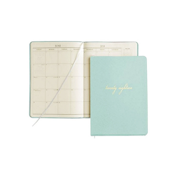 Soft Cover Daily Planner 2018 With Round Corner - Buy Planner With