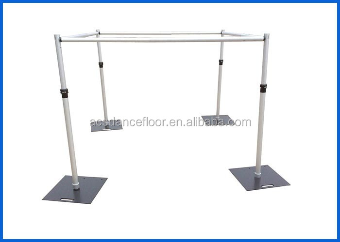 Acs Pipe And Drape Base Cart Stands Used Pipe And Drape