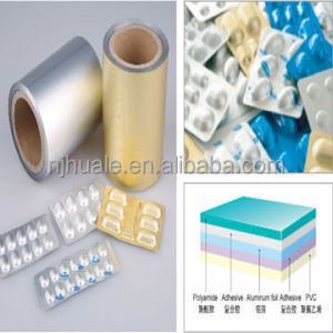 uprinted blister pharmaceutical cold forming alu alu foil