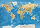 2017 Luxury new edition PVC ocean world scratch map