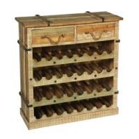 Storage Wine Rack Antique Furniture Wooden Wine Cabinet ...