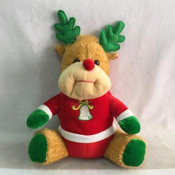 2018 New Hot Sales Plush Christmas Reindeer Toys - Buy High Quality