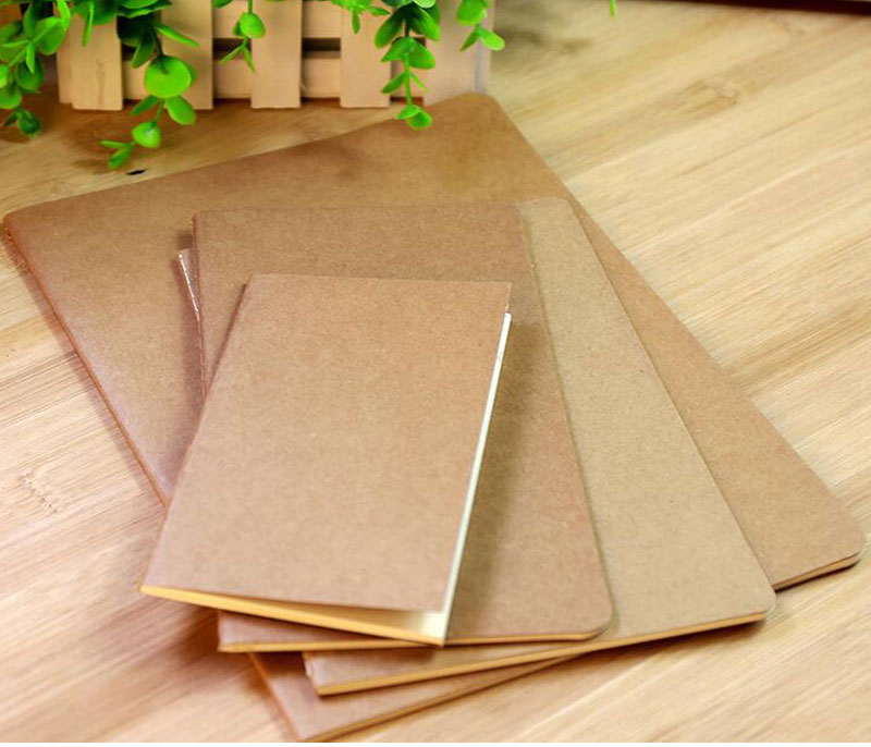 Kraft Paper Cover Material And Mini Style Notebook Free Sample