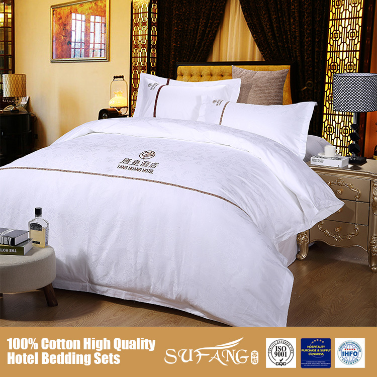 China Brand High Quality Hotel Bed Setsking Queen Size