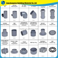 Hot Sale Plumbing Fittings Names Of Pvc Water Supply Pipe ...