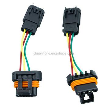 Polaris Headlight Conversion Wire Harness Plugs 16-17 Polaris