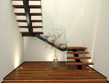Manufactured Mono Stringer Beam Steel Staircase With