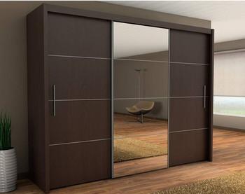 Wooden Aluminium Wardrobe Designs,Bedroom Wardrobe Sliding