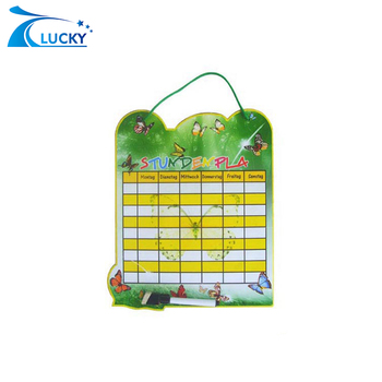 Custom Magnetic Timetable For Students Weekly Plan - Buy Advertising