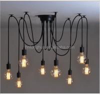 10 Heads Thomas Replica Pendant Light Edison Bulb ...