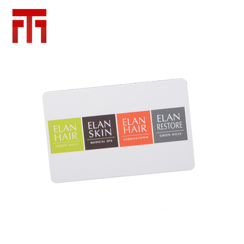 Factory Wholesale Printing Blank Gift Card Magnetic Stripe Format