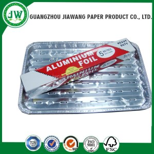 Aluminum foil roll stock aluminum roll film kitchen foil aluminum foil Roll