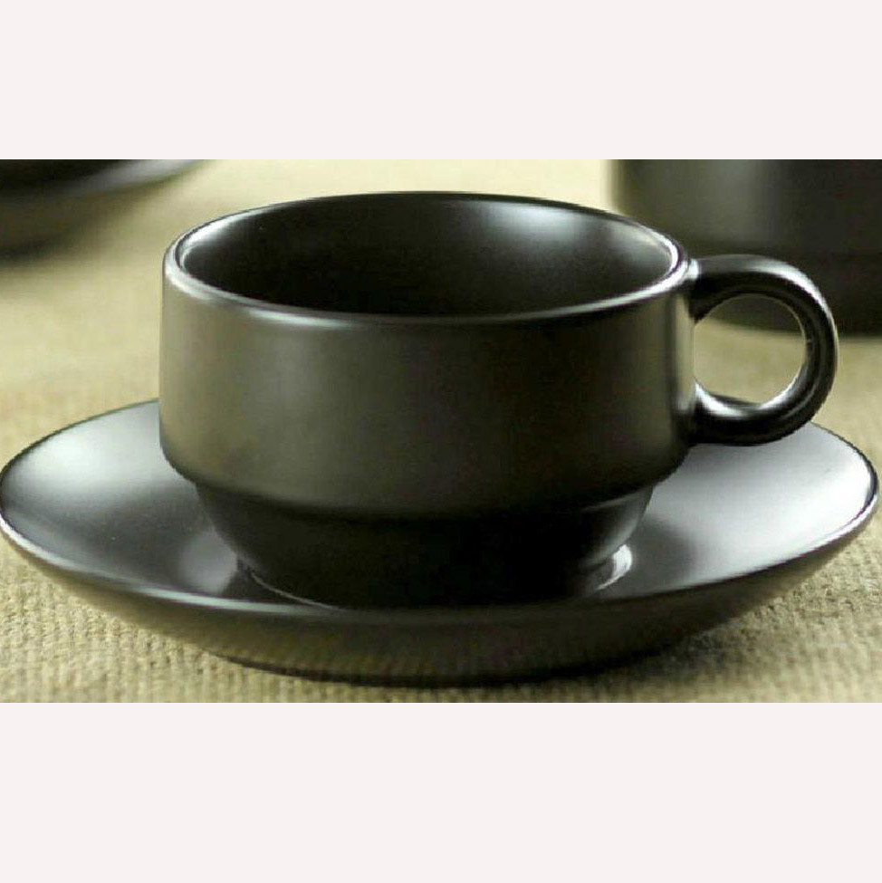 Small Coffee Cups And Saucers Matte Black Porcelain Coffee Cup Saucer Set Buy Porcelain Coffee Cup Saucer Japanese Porcelain Coffee Set Small Coffee Cup And Saucer Set Product On