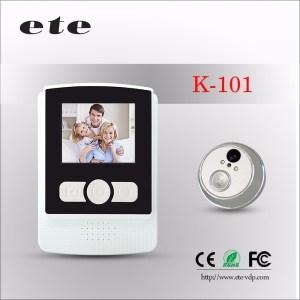 Night vision digital door viewer door peephole camera/android system door peephole camera /ring doorbell camera