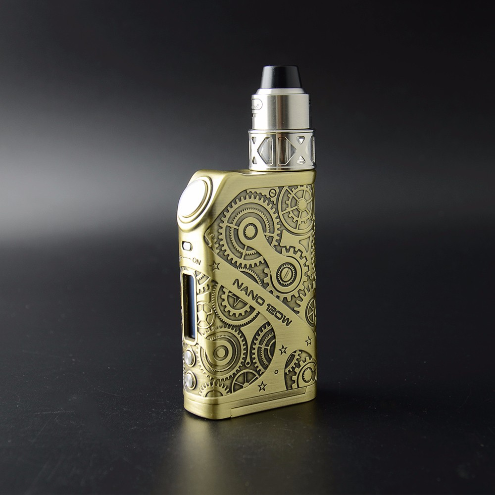 Steampunk Mode Tesla The New Arrived Electronic Cigarette Nano 120w