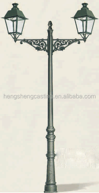 Decorative street lamp pole /cast iron garden light pole ...