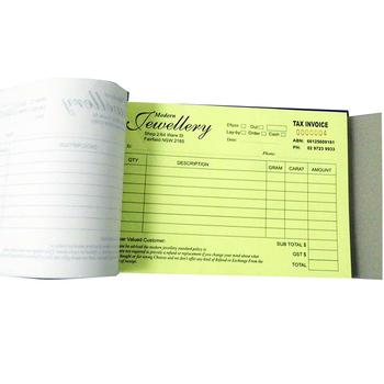 Deposit Receipt Form Invoice Printing Tax Invoice Book - Buy Tax