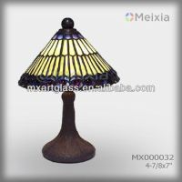 Mx000032 Wholesale Stained Glass Table Lamp Shade Modern ...