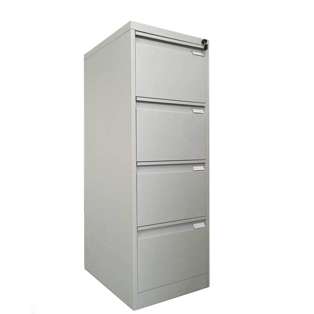 Hanging A4 Folder Storage Metal 4 Drawer File Cabinet