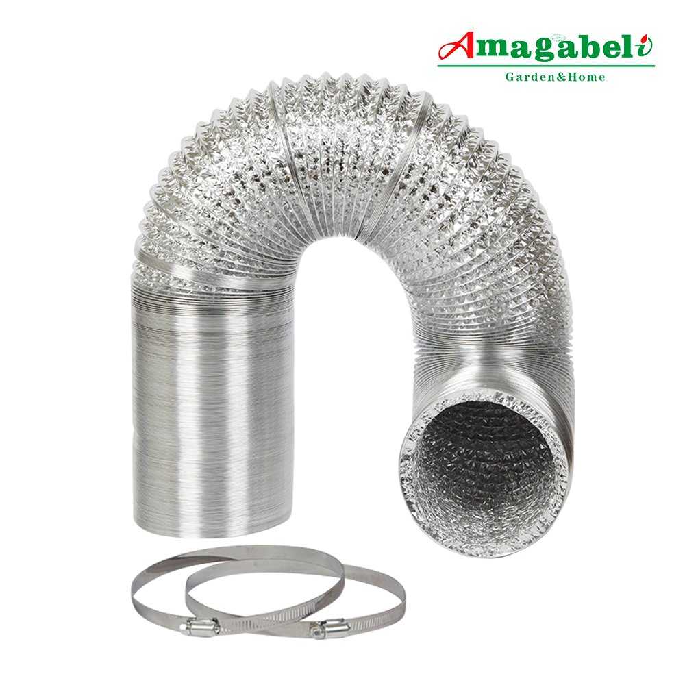 Dryer Vent Insulation Buy 6in Aluminum Foil Duct Hose Flex Grow Tent Room Ventilation