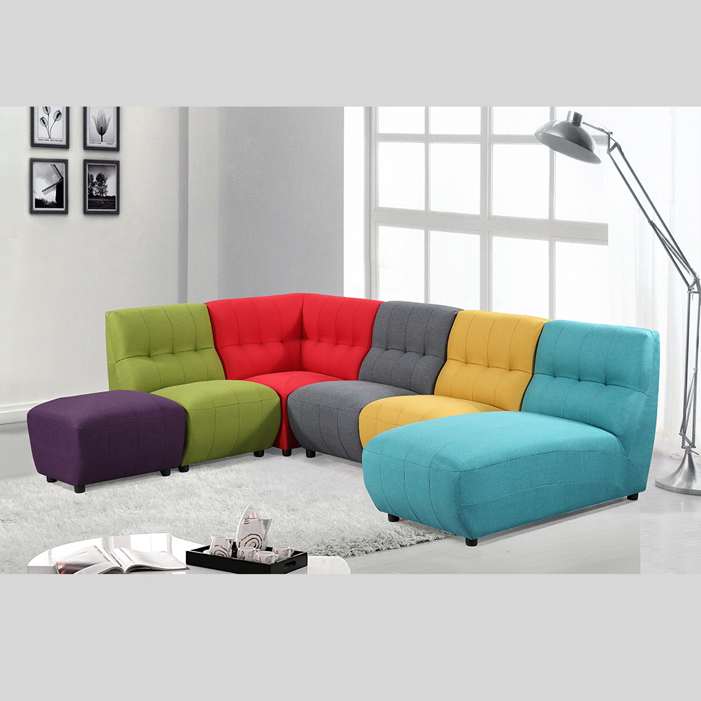 Sofa Fabric New Design Upholstery Multi Color Fabric Sofa Contrast Color Fabric Sofa Set Buy Fabric Sofa Fabric Sofa Set Multi Color Fabric Sofa Product On