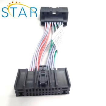 Automotive Ford Audio 24 Pin Iso Connector Wire Harness For Car