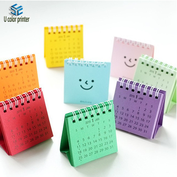 Cute Small Table Calendar Offset Printing For Office/ Students - Buy