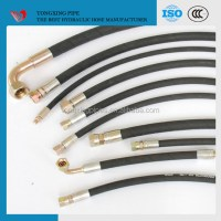 Stainless Steel Wire Braided Hydraulic Rubber Hose And ...