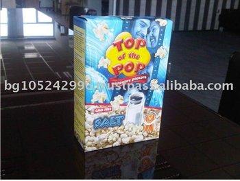 Microwave Popcorn Salt 3x100g Display Box Buy