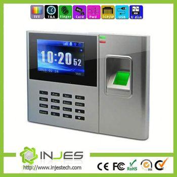 Injestech Free Sdk Tcp\/ip 1000 User Fingerprint Employee Time Card - time card calculator