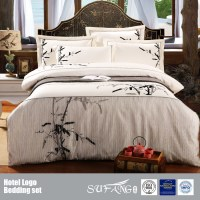 Classical Bamboo Design Embroidery Bedding Set Wholesale ...