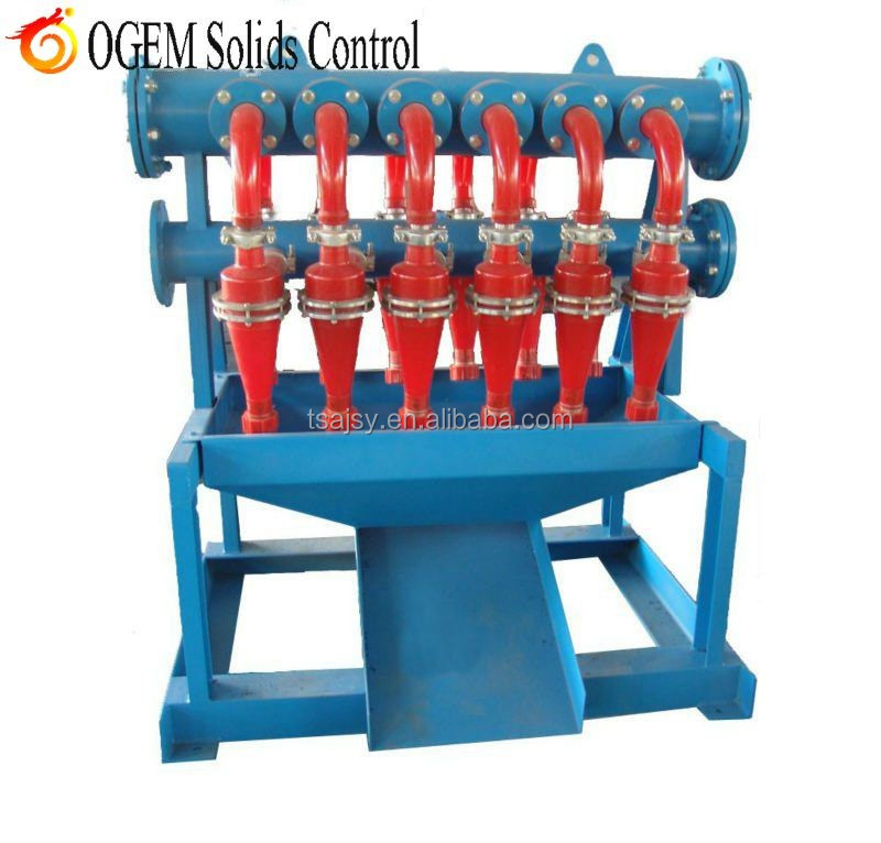 New Solids Control Cyclone Desilter - Buy Hydrocyclone Desilter,New